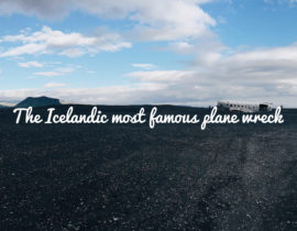 Plane wreck can be beautiful – only in Iceland