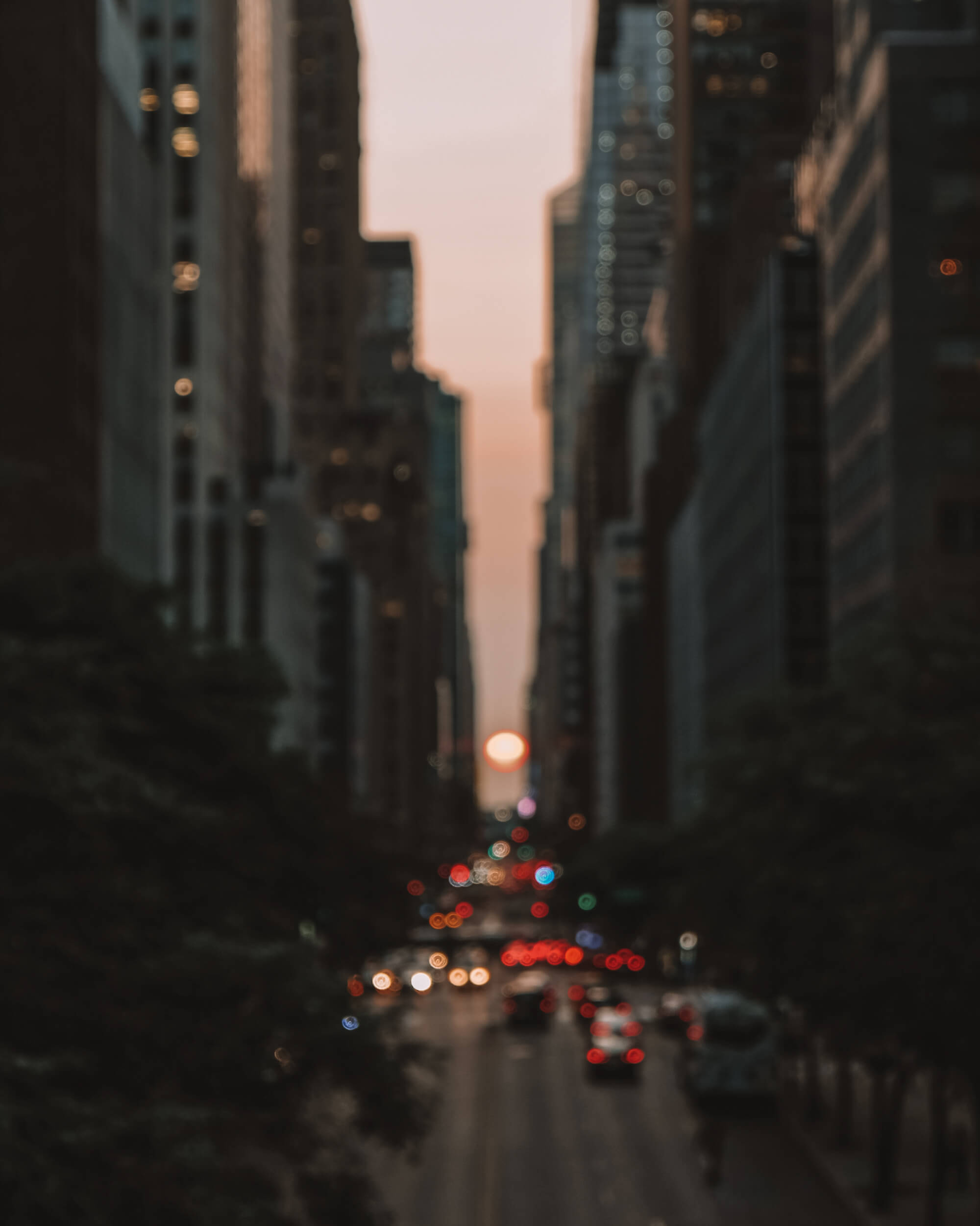 Manhattanhenge_sunset